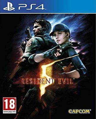 Resident Evil 5 HD Remake (PS4 PLAYSTATION 4 VIDEO GAME) *NEW/SEALED* FREE P&P