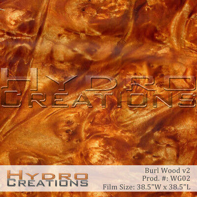 HYDROGRAPHIC FILM FOR HYDRO DIPPING WATER TRANSFER FILM BURL WOOD WOOD GRAIN v2