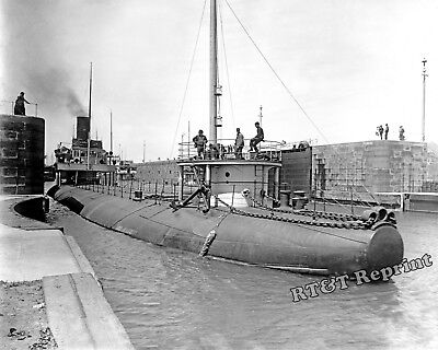Photograph Whaleback Freighter Joseph L.Colby Poe Lock, Sault Ste. Marie 1895
