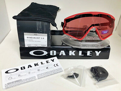 37e51fc8537d1 Oakley WINDJACKET 2.0 Sunglasses OO9418-0645 VIPER RED   PRIZM SNOW TORCH  IRID