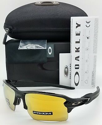 91c98a23db NEW Oakley sunglasses Flak 2.0 XL Black 24K Prizm Polarized 9188-9559  Midnight