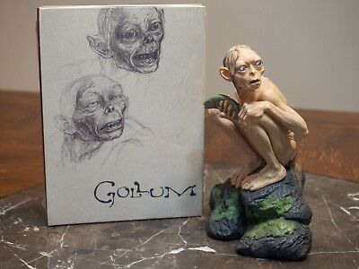 """Sméagol"" Gollum Statue, Gollum DVD, Lord of the Rings Symphony DVD, Nat Geo DVD"