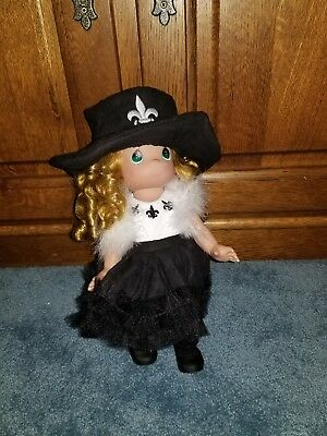 "Precious Moments 12"" Anna Vinyl Doll From The Doll Maker Linda Rick"