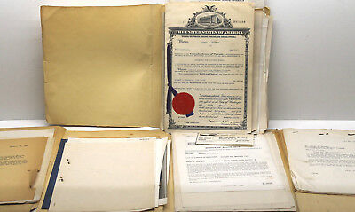 1944 - 1949 Original Patent Plumley Applications Automotive Auto Battery Post NY