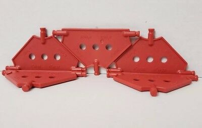 3 HOLES   KNEX K/'NEX Tri Panel Small RED 1 Piece- PANELS