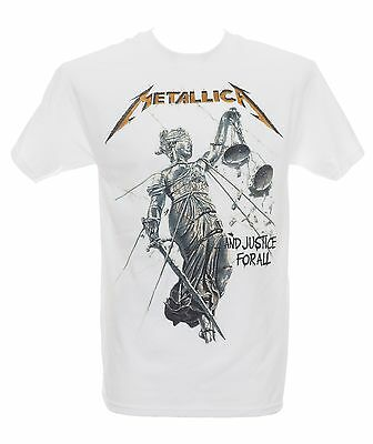 METALLICA - AND JUSTICE FOR ALL ALBUM COVER - Official T-Shirt - New S M L XL