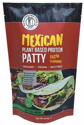 THE GLUTEN FREE FOOD CO Protein Patty Mix Mexican 200g