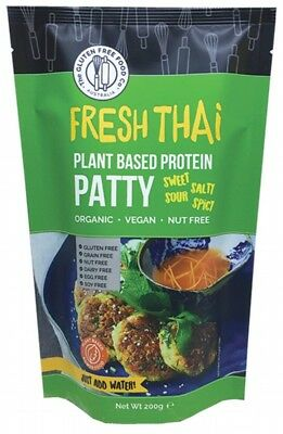 THE GLUTEN FREE FOOD CO Protein Patty Mix Thai Flavours 200g