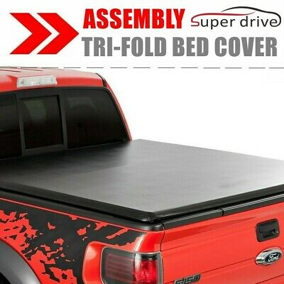 Tri Fold 6 5 Standard Bed Tonneau Cover W Lock For 2004 2018 Ford F 150 Tonno Truck Bed Accessories Auto Parts And Vehicles Tamerindsa Com Ar