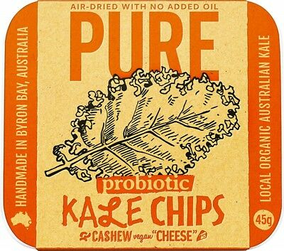 EXTRAORDINARY FOODS Cashew 'Cheese' Kale Chips 45g