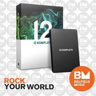 Native Instruments Komplete 12 Software Virtual Instrument Bundle Software - BM