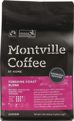 Montville Coffee Coffee For Espresso 250g