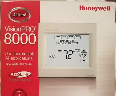 Honeywell TH8110R1008 Thermostat RedLINK | VisionPRO 8000 (1H/1C)