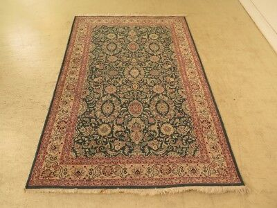 LF28919: Vintage Approx: 4.5  x 6.5  Hand Woven Persian Rug