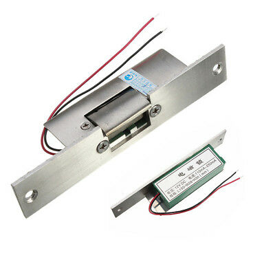 12V Fail Safe Electric Strike Lock NC Narrow-type Door Gate For Access Control