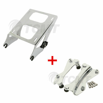 4 Point Docking Kits Two Up Tour Pak Luggage Rack For Harley Touring 2014-2018