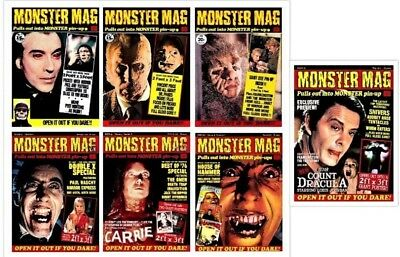 MONSTER MAG Complete Reprint Set 7 Issues # 1,2,3,18,19,20,21 NEW