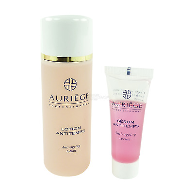 Auríège Paris Anti Aging Set - Soin Masque + Sérum Antitemps + Lotion - 3pcs.