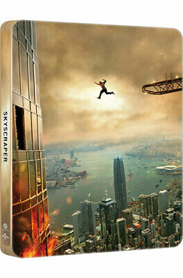 Skyscraper (2018, Blu-ray) Steelbook Korean Edition / Pick One! 3D or 4K UHD