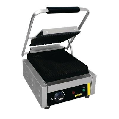 Buffalo CD474 Bistro Single Contact Grill (Boxed New)