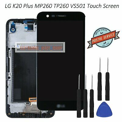 LCD Display For LG K20 Plus K10 Touch Screen Digitizer MP260 TP260 VS501 Black