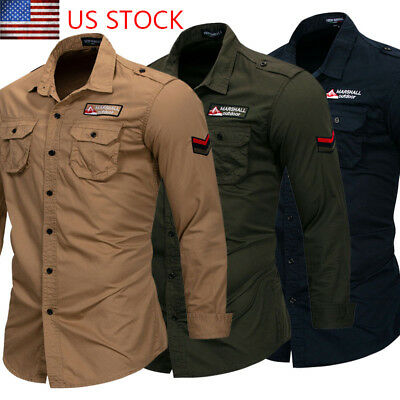 Mens Luxury Casual Muscle Stylish Slim Fit Long Sleeve Casual Dress Shirt NEW