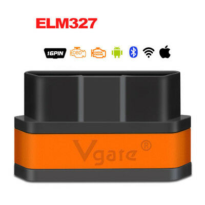 Vgate iCar2 ELM327 Wifi/Bluetooth OBD2 Diagnostic Tool for IOS iPhone/Android/PC