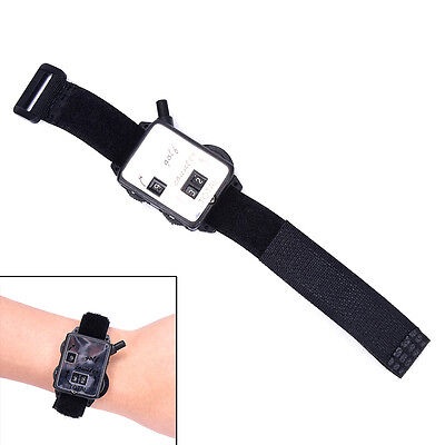 Golf Score Stroke Keeper Count Watch Putt Counter Shot With Wristband EO