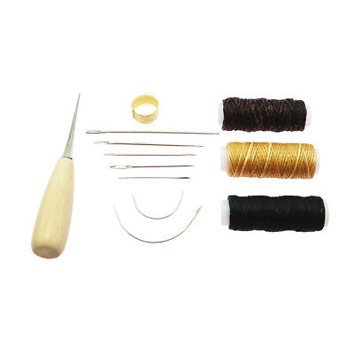 8 Styles Upholstery Sewing Kit Darning Needles And Thread For Leather Sewing
