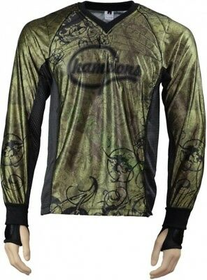 IDP Jersey The Crown Oliv Paintball Trikot