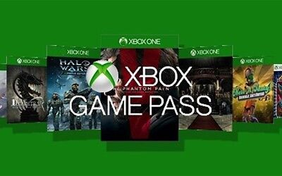 XBOX Game Pass 30 day trial code