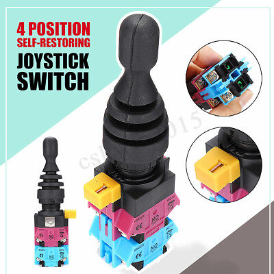 HKD-FW24 600V 4-Position 4NO Spring Return Momentary Joy Stick Joystick Switch