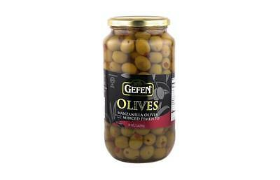 Gefen Olives Spanish Manzanilla Stuffed 595Gr (21Oz)