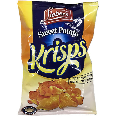 Liebers Sweet Potato Krisps 113G Klp