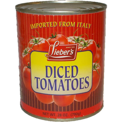 Liebers Diced Tomatoes Klp 790G