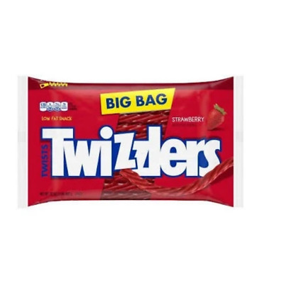 Twizzlers Strawberry Twists large bag 907g