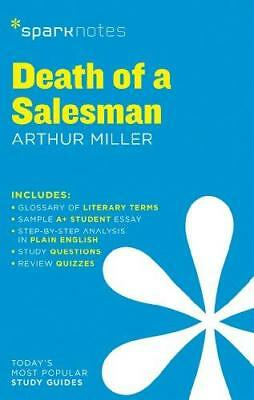 Death of a salesman by Arthur Miller by Spark Notes (Paperback, 2014)