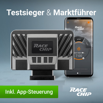 RaceChip Ultimate Chiptuning mit App BMW 5er (G30, G31) 520d 190PS 140kW Tuning