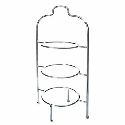Zuhause - High Tea 3 Tier Plate Stand Chrome