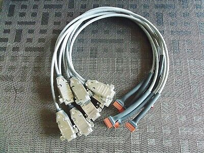 7 New Amp Cables. 9 Pin Female To 6 Pins Female 20' Long Connector