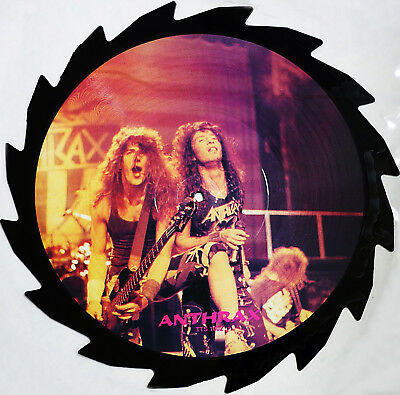 ANTHRAX - Limited Edition Interview Picture Disc LP UK