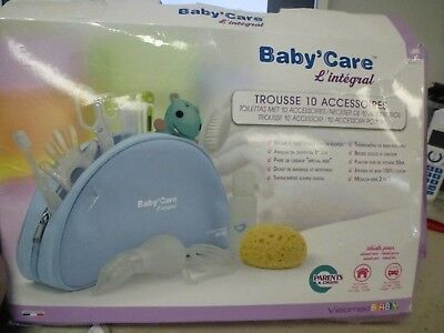 baby'care l'intégrale , trousse de 10 accesoires Visiomed baby ( occasion)