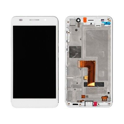 Huawei Honor 6 LCD Screen and Digitizer Full Assembly with Frame (White)