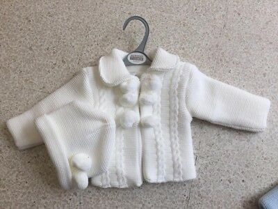 Just Spanish Knitted Baby Set Age 12m Baby Boys' Clothing (0-24 Months)