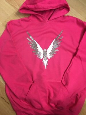Logan Paul Maverick Hoodie Pink And Confetti Sparkle Maverick Logang Jake Paul