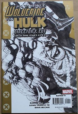 Ultimate Wolverine Vs Hulk #1 Directors Cut, Collects issues 1&2,1st Print 2006