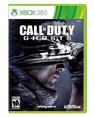 Call of Duty Ghosts (Microsoft Xbox 360) Brand New Video Game Factory Sealed
