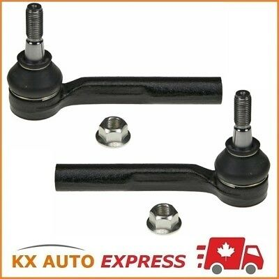 2X Front Outer Steering Tie Rod End for Chrysler Dodge Jeep