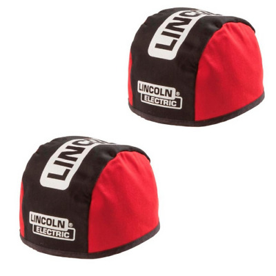 Lincoln Electric FR Welding Beanie Red/Black K2994-L Flame Resistant Cotton 2