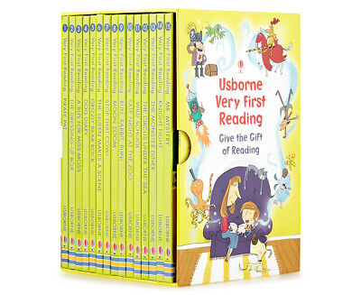 Usborne Very First Reading 16 Book Collection Gift Set Pack